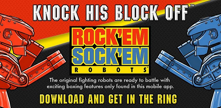 A Review of Rock 'em Sock 'em Robots for Android