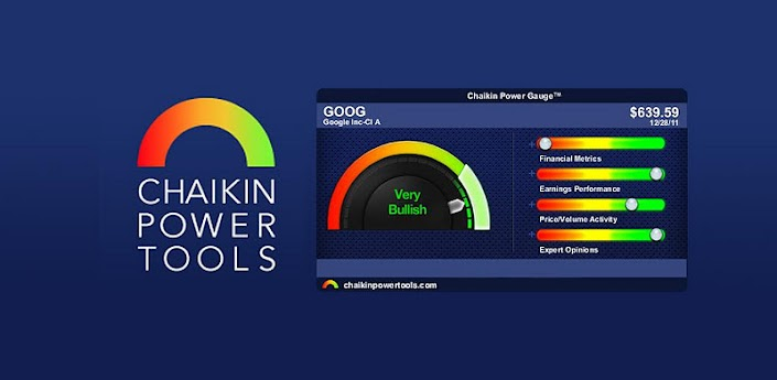 Android App Review – Chaikin Power Tools Stock App