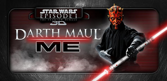 Become a Sith with Darth Maul Me for Android