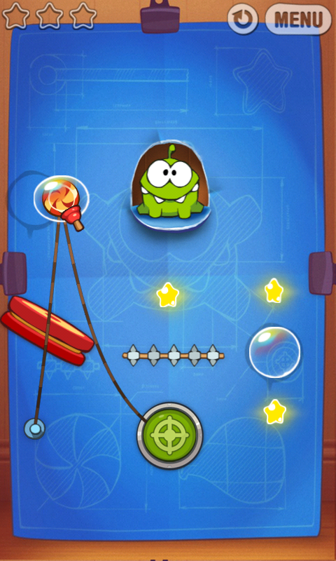 Cut the Rope: Experiments v1.0 [RUS][Android] (2012)