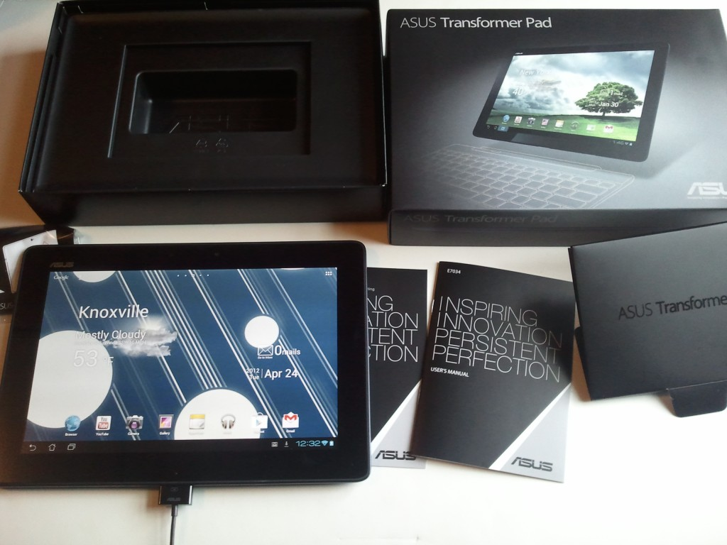 First Impressions of the ASUS Transformer Pad TF300T