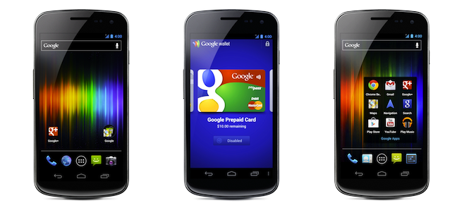 Google Play Store now selling the Galaxy Nexus unlocked for $399