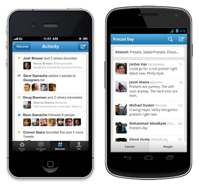 Twitter Android app update improves discover, search and notifications features