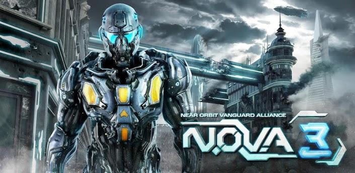 N.O.V.A. 3 Comes Crashing Through Google Play's Door