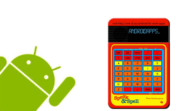 Quick Review – Speak and Spell for Android