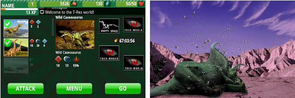 DunkApps releases T-Rex World for Android