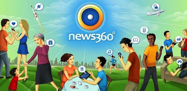 News360 for Tablets gets a new UI and other personalization features