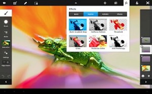 Adobe update Photoshop Touch app, now supports 12 megapixel images