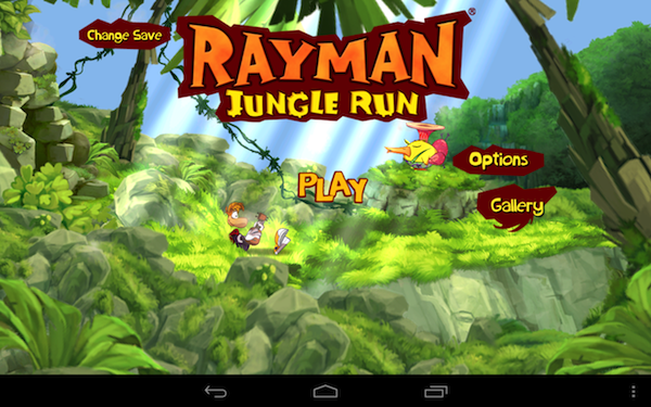 Rayman Jungle Run review, could be the best Android platformer this year