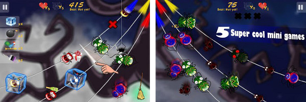 Spin a Web of Fun with Tango Games SpiderWay for Android