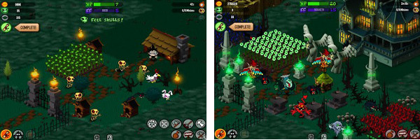 Grow a Garden full of Ghouls in YoYo Games Grave Maker