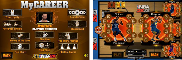 2K Games releases an NBA2K13 companion app in MyNBA2K for Android