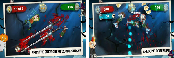 Zynga releases Zombie Swipeout for Android