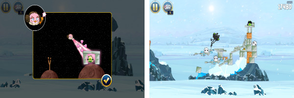 Visit Hoth in the New Angry Birds Star Wars Update