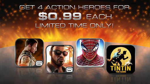 Gameloft throws a $0.99 Android Game Thanksgiving Sale