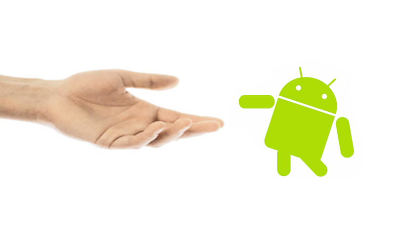Nokia is not shaking hands with Android- Or is it?