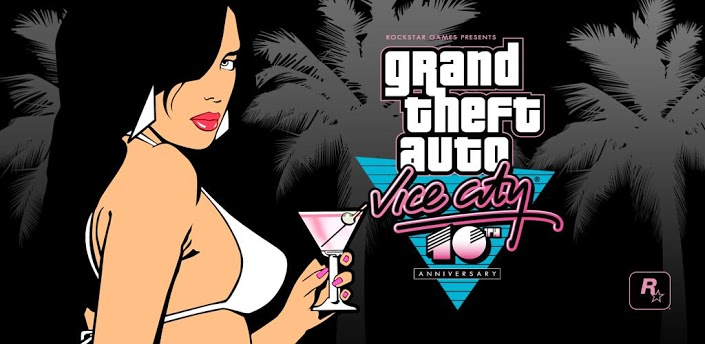 Rockstar celebrates the anniversary of Grand Theft Auto: Vice City by releasing an Android game