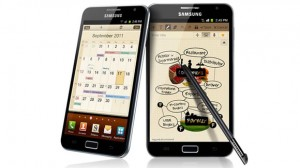 Galaxy Note being served Jelly Bean along with the perks