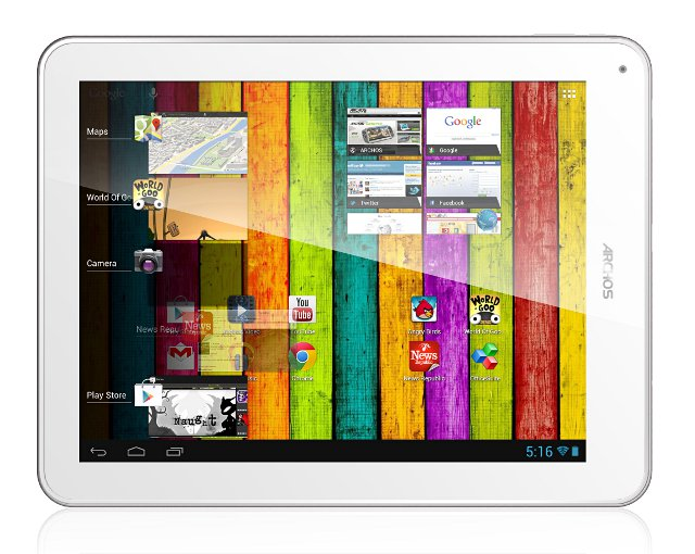 Archos shows off 97 Titanium a high resolution tablet