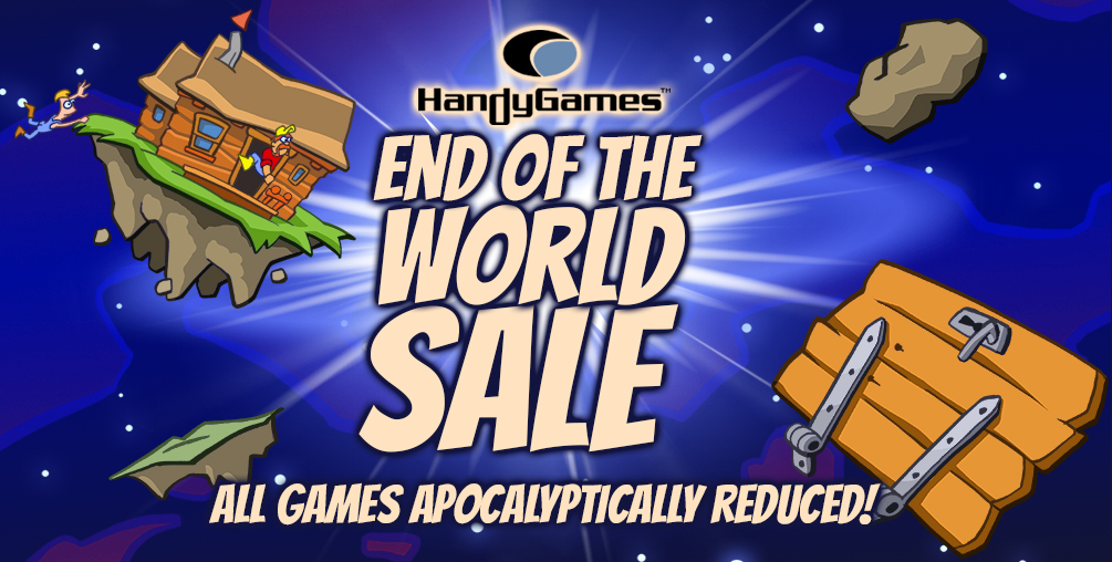 handy games end of the world sale