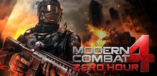 Gameloft's 4th installment in the Modern Combat series, Zero Hour hits Google Play store