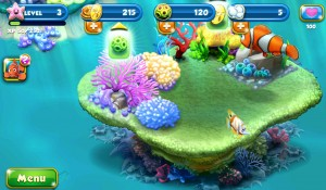 Finding Nemo comes to Android in Nemo's Reef from Disney