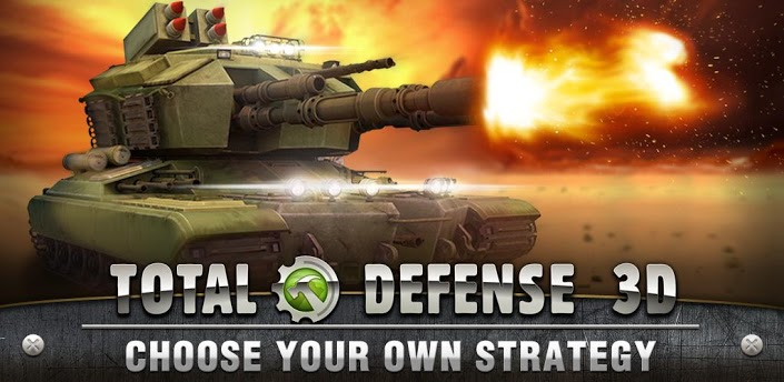 Total Defense 3D available now on Google Play, combines RTS and RPG elements into one game