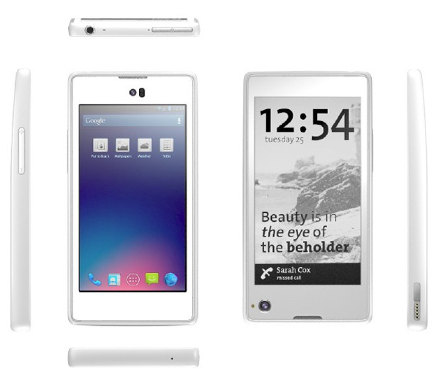 Yotaphone – The Two Faced Smartphone