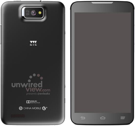 ZTE P945 a 5.7 inch smartphone inbound for China