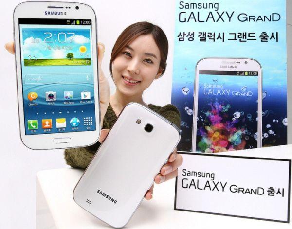 Galaxy Grand comes to Korea with a Quad Core CPU