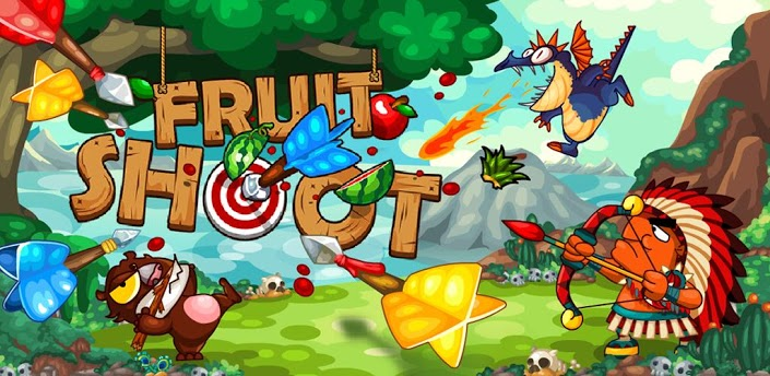 Shoot for the Fruit in Words Mobile's Fruit Shoot for Android