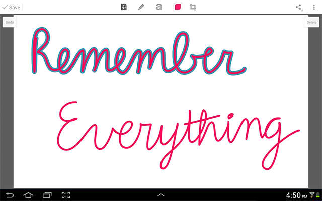 Evernote updates its Skitch Android app, bringing in some new features