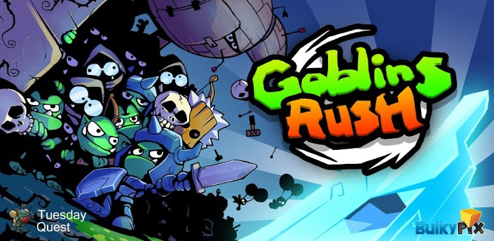 Goblins Rush Review: Burn, Crush, and Kill Goblins with Reckless Abandon