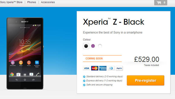The Sony Xperia Z may make you Poor