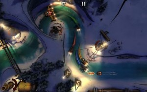Swing and Fling your way around the Track in Slingshot Racing from Crescent Moon Games