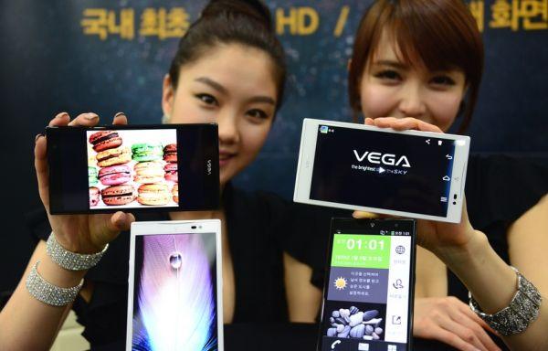 "Pantech Vega No. 6… a 5.9"" phablet"