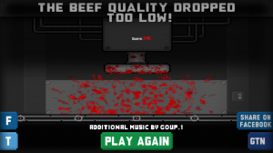 Run a Meatpacking Plant in Game the News's Cow Crusher for Android