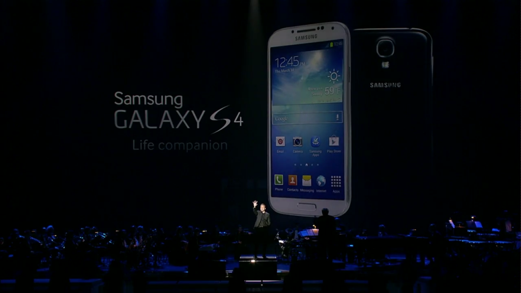 Samsung unveils the Samsung Galaxy S4 to the World