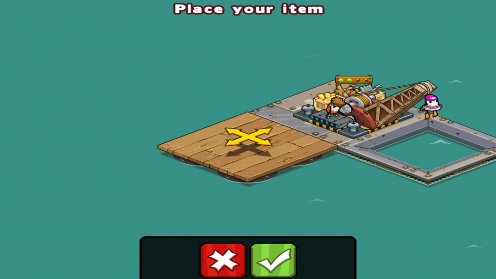 Plunder and Build in 6waves Raft Pirates for Android