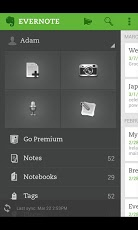 Evernote for Android gets an Update and New Features