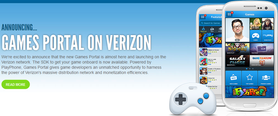 Verizon Is Preloading the Playphone Games Portal Store to New Android Devices