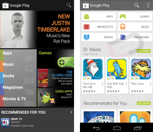 Google Play set to get a whole new look with Google Play 4.0