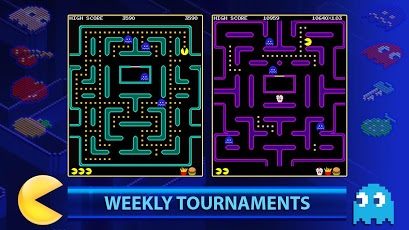 pac-man tournaments for android