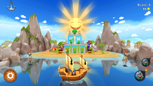 Go for the Gold in Potshot Pirates 3D for Android