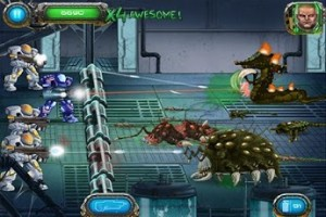 Blast Away at Aliens in Bulkypix's Soldier vs Aliens for Android