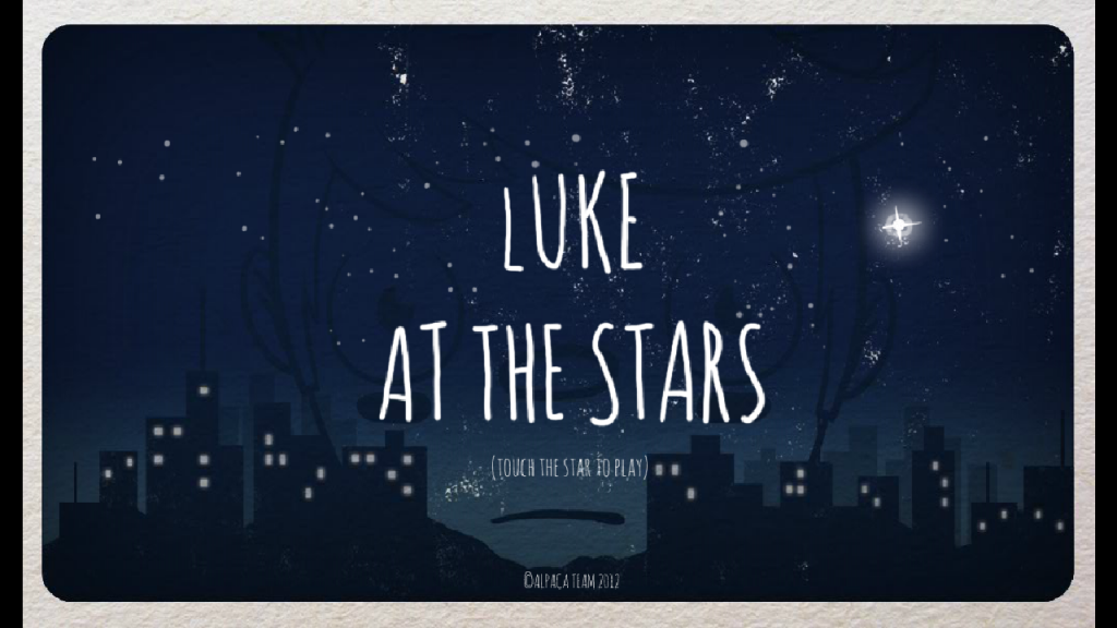 luke at the stars