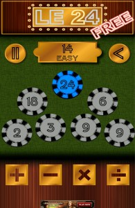 le 24 android math game by marco Pereira