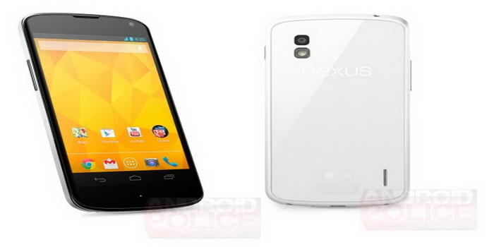 LG Nexus 4 White Version Photos Leaked