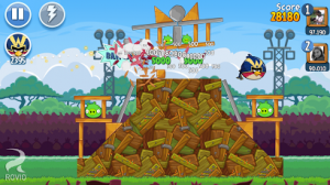 Angry Birds Friends flings itself onto Google Play