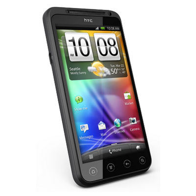 HTC EVO 3D screen